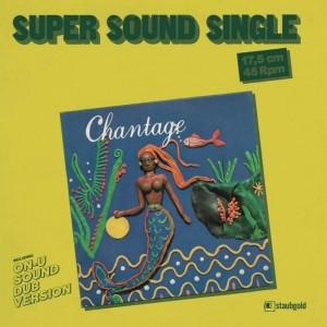 Image of Chantage (Eve Blouin + Vivien Goldman) - It's Only Money -  Inc. On-U Sound Dub Version By Adrian Sherwood
