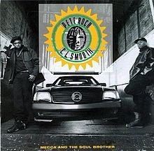 Pete Rock & CL Smooth - Mecca And The Soul Brother - Reissue