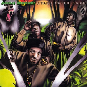 Image of Jungle Brothers - Straight Out Of The Jungle / Black Is Black (RSD21 EDITION)