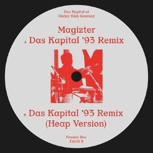 Image of Magizter - Das Kapital At Raday Klub Remixed