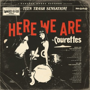 Image of The Courettes - Here We Are The Courettes