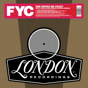 Image of Fine Young Cannibals - She Drives Me Crazy (Derrick Carter And Seth Troxler Remixes) (RSD21 EDITION)