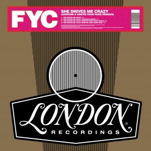 Image of Fine Young Cannibals - She Drives Me Crazy (Cerrone & Dimitri From Paris Remixes) (RSD21 EDITION)
