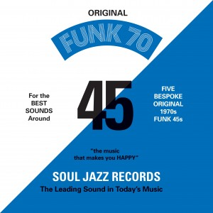 Image of Various Artists - Soul Jazz Records Presents: Funk 70 - Collectors 7