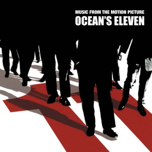 Image of Various Artists - Oceans Eleven - Music From The Motion Picture (Limited 20th Anniversary Black & Red Cornetto
