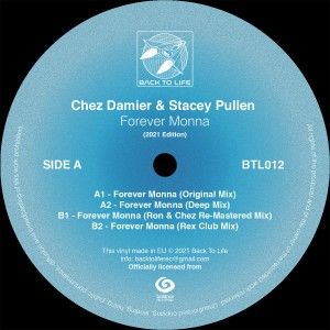 Image of Chez Damier & Stacey Pullen - Forever Monna (2021 Edition)