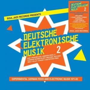 Image of Various Artists - Soul Jazz Records Present Deutsche Elektronische Musik 2 - Love Record Stores 2021 Boxset Edition