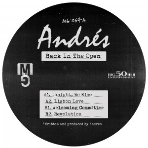 Image of Andrés - Back In The Open