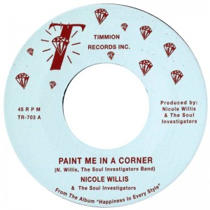 Image of Nicole Willis & The Soul Investigators - Paint Me In A Corner