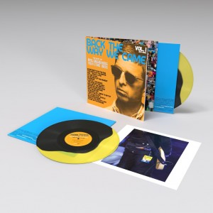 Image of Noel Gallagher's High Flying Birds - Back The Way We Came: Vol 1 (2011-2021) - Coloured Double LP Hand Pressed With Exclusive Art Print (RSD21 EDITION)