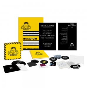 Image of Various Artists - Use Hearing Protection: Factory Records 1978-79 (Limited Edition Box)