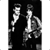 Image of The Smiths - Morrissey And Marr Postcard