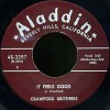Crawford Brothers<br>It Feels Good / I Ain't Guilty<br>Aladdin
