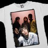 The Stone Roses<br>Ian Brown - 'Monkey' - White T-shirt<br>